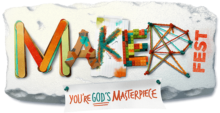 Maker Fest You're God's Masterpiece